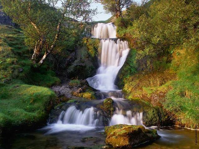 scenery - waterfall