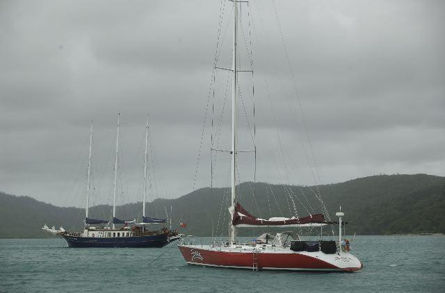 Sailing in the Whitsundays