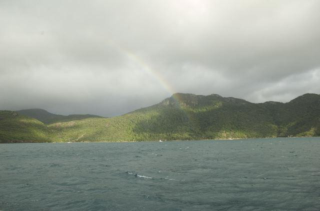Rainbow in the Whitsundays