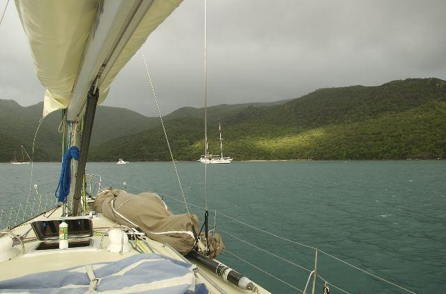 from Eureka II sailing boat