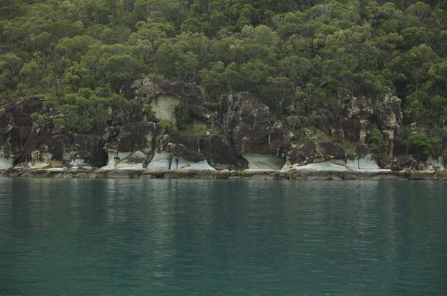 Blue rocks on Hook Island