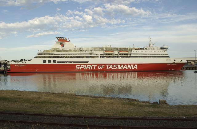 Spirit of Tasmania ferry boat