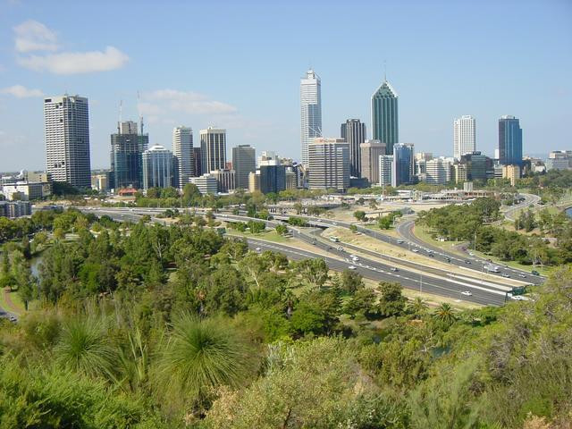 View on the CBD from Kings Park