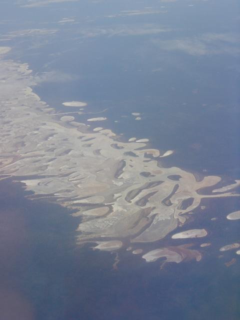 View from the plane while flying from Adelaide to Perth
