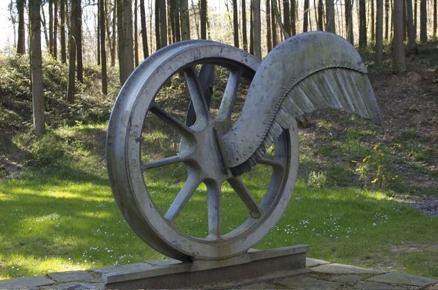 Wings of wheel, near Vianden, Luxembourg