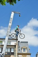 Vertical bike