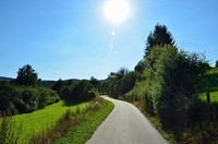 Cycling route Wiltz-Bastogne