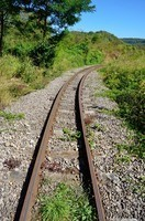 Narrow railroad