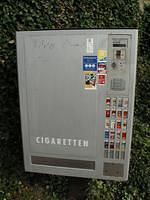In Germany you can buy cigarettes in the street.