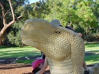 Artistic dinosaur