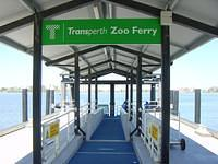 Let's take the ferry to visit Perth's zoo, and see local wildlife before going to the outback