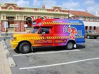 Radio Nova's van