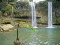 Falls in central Dominican Republic