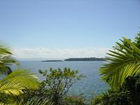 We transfered after some days to Samaná in the Grand Bahia, which took a complete day. Here's the view from our room.