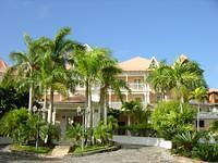 The Grand Bahia Hotel in Samana Bay's front.