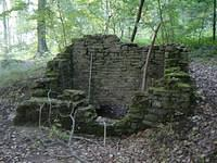 Ruins near Eischen, close to the cycle path PC13.